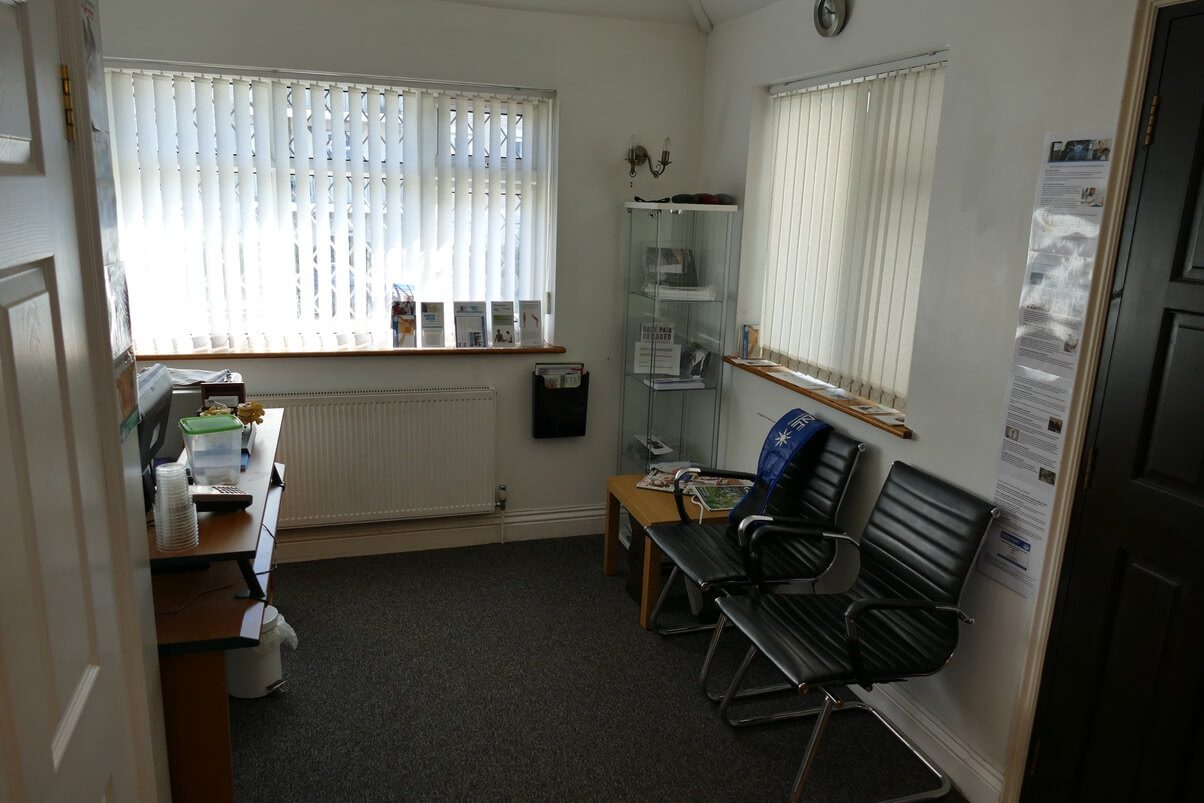 Spine Plus Osteopathy Waiting Area