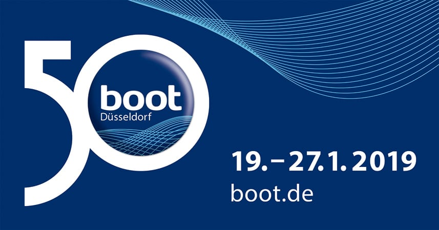 Meet us at Dusseldorf Boatshow 'Boot' 2019