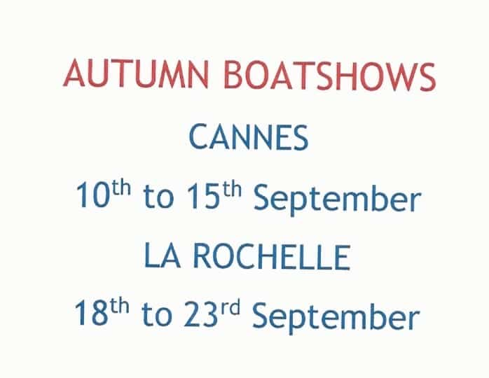 Autumn Boatshows – or what to see where!