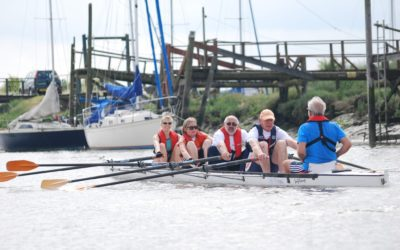 Benfleet Yacht Club :Round Canvey Rowing Race: Sat 14th July 2018: