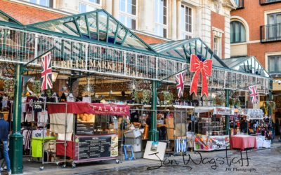 Covent Garden Christmas Lights Switch On 2018